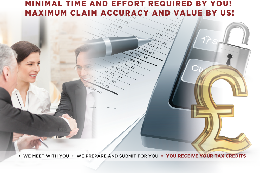 Minimal time and effort required by you! Maximum claim accuracy and value by us!